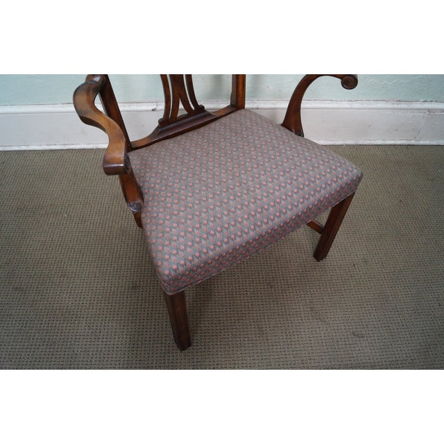 Mahogany Chippendale Armchairs - A Pair - Image 10 of 10