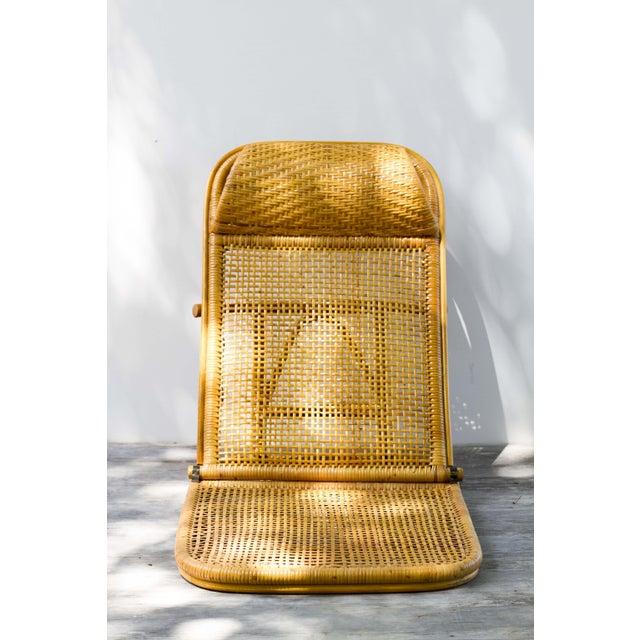 Vintage Rattan Beach Chair Chairish