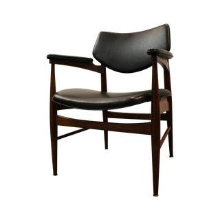 Thonet Mid-Century Danish Modern 7400 Arm Chair