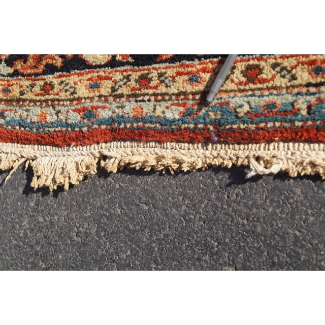 Antique Hand Woven Persian Heriz Rug - 11′6″ × 16′8″ - Image 10 of 10
