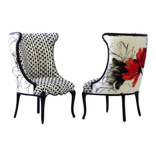 Flora Upholstered Occasional Chair