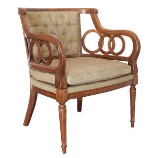 Vintage Mid-Century Barrel Club Chair