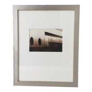 Modernist Framed Photograph