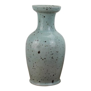 Sarreid LTD Blue & Gray Speckled Vase