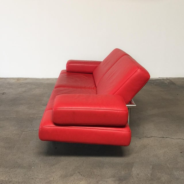 De Sede Ds-460 Multifunctional Sofa Red - Image 4 of 11