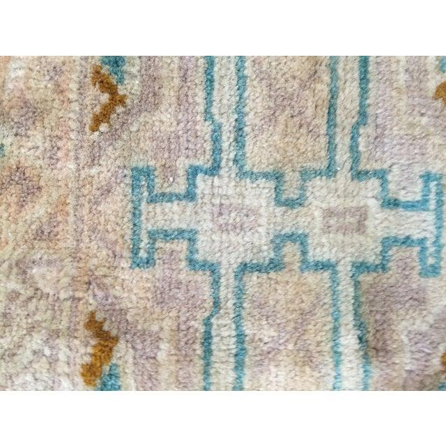 "Turkaman Handmade Persian Rug 1'6"" x 2'8"" - Image 8 of 10"