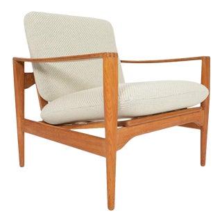 Illum Wikkelsø Ek Lounge Chair in Oak