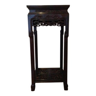Chinese Traditional Wooden Pedestal