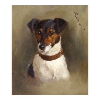 Jack Russell Terrier Dog, 'Peggy' by Monica Gray