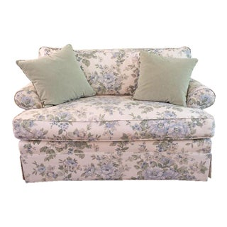 Ethan Allen Shabby Chic Floral Couch