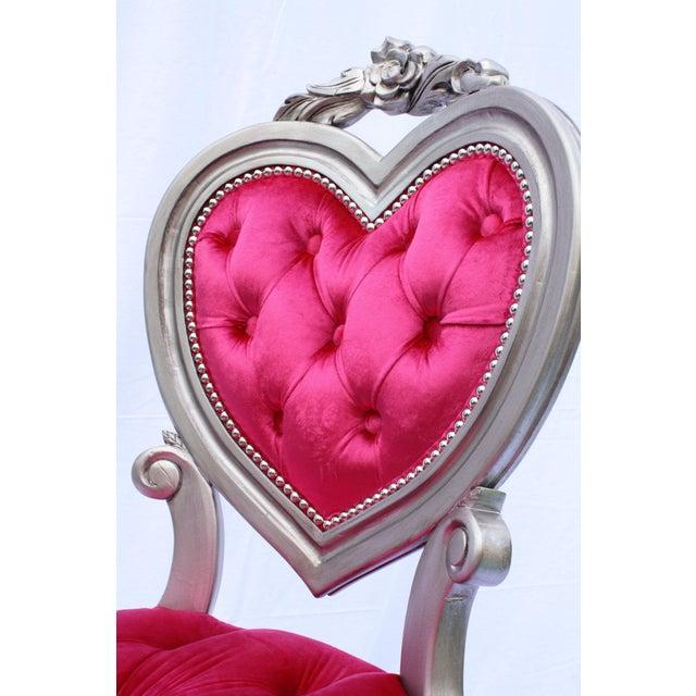 Heart Shaped French Victorian Parlour Chair Chairish