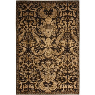 """Hand-Knotted Wool & Cotton Rug - 8'2"""" x 5'8"""""""