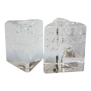 Timo Sarpaneva for Iittala 'Arkipelago' Candle Holders - A Pair