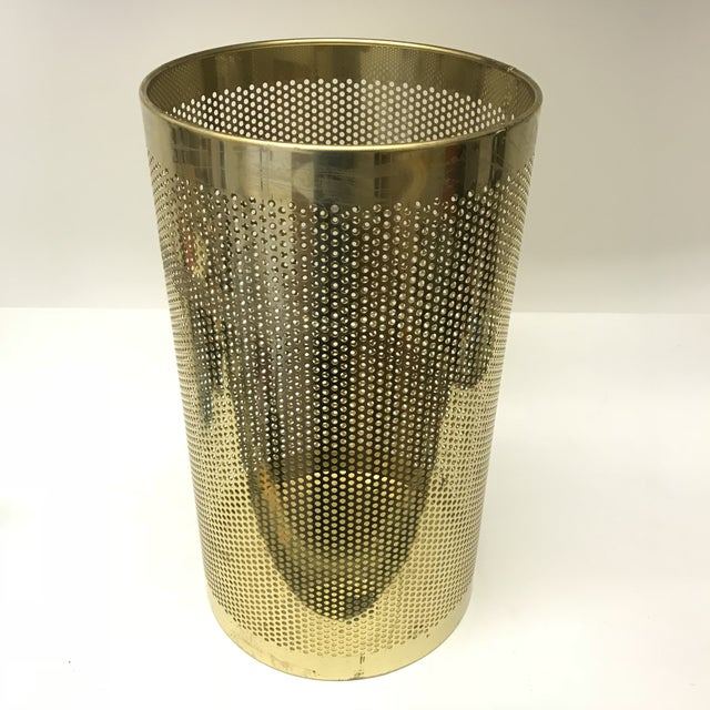 Perforated Brass Bin - Image 2 of 5