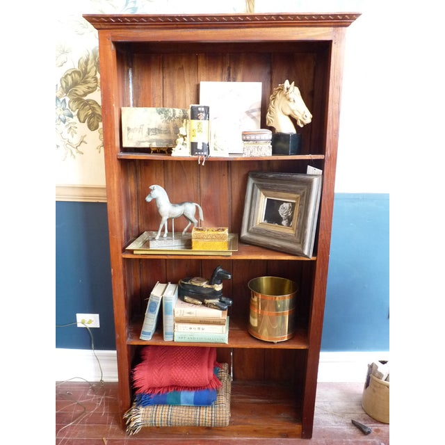 Rustic Wooden Bookcase - Image 11 of 11