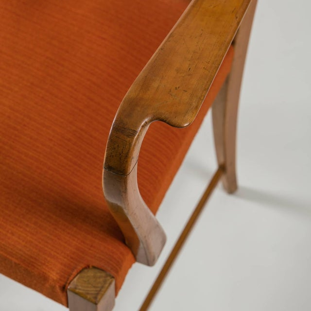 Armchair by Paolo Buffa by Marelli - Image 10 of 10