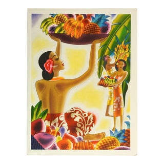 1941 Graphic & Vibrant Hawaiian Menu