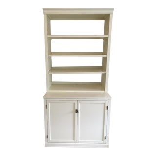 Pottery Barn Logan Bookcase and Cabinet