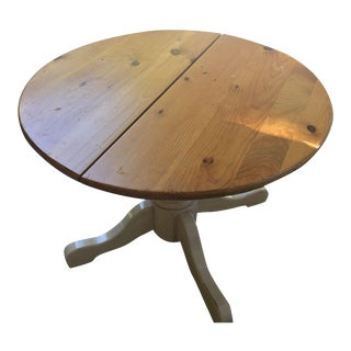 Shabby Chic Round Country Dining Table