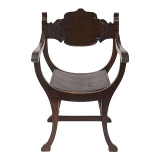 Antique Chippendale Wood Chair