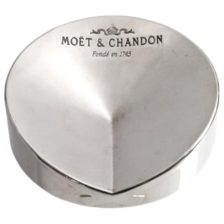 Vintage Moët & Chandon French Chrome Ashtray