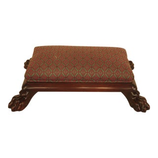 Baker Claw Foot Small Footstool