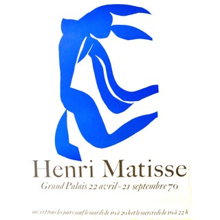 Matisse Grand Palais Exhibition Poster, 1970