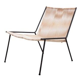 "Early Original Allan Gould ""Bow"" Chair in Original Condition"