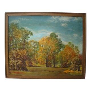 1959 Autumn Foliage Landscape