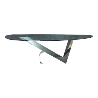 Marble, Metal & Glass Coffee Table