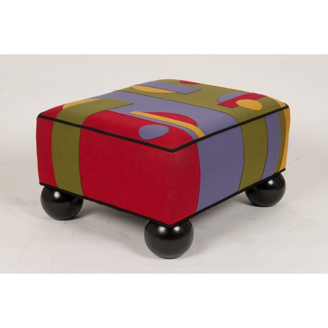 Colorful Limited Edition Ottoman - Image 3 of 5