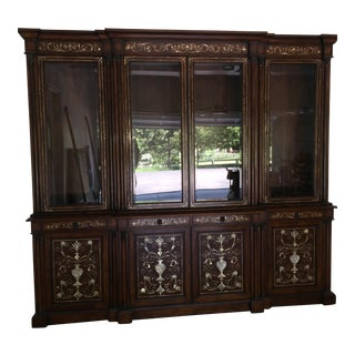 Hand Made Mahogany Dinning Room Hutch