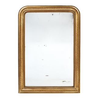 Louis Philippe Period French Gold Leaf Mirror