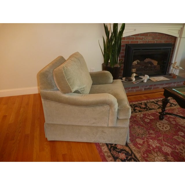 Ethan Allen Sage Arm Chair - Image 3 of 5