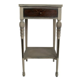 French Style End Side Table