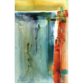 Original Abstract Mixed Media Painting
