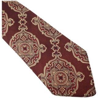 1920s Classic Maroon Tie