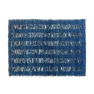 Banana Fiber & Cotton Yarn Blue Placemat