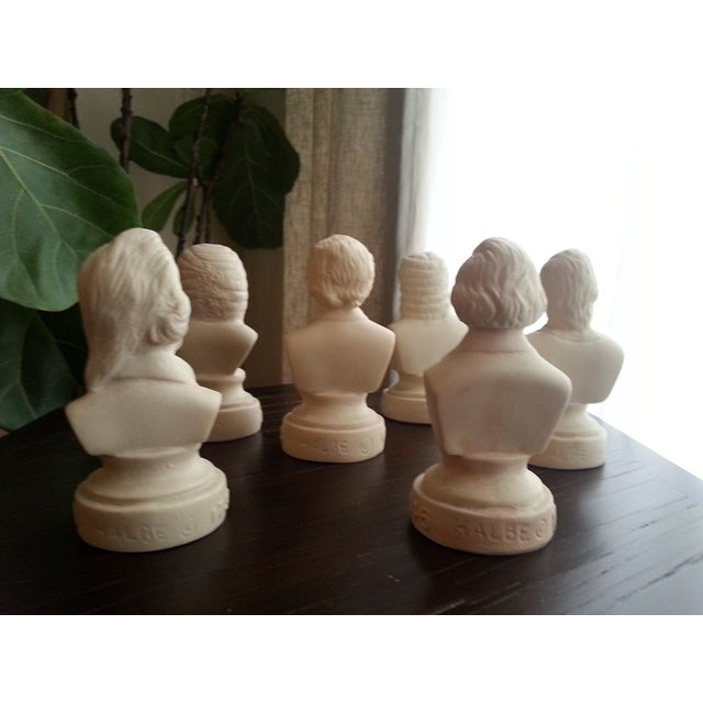 Famous Composer Busts - Set of 6 - Image 7 of 9