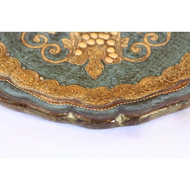 Vintage Florentine Tray - Image 3 of 7