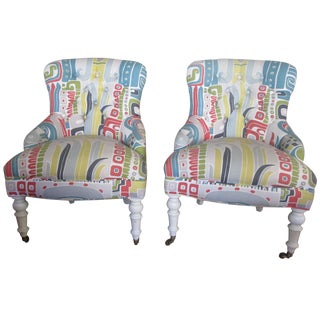 Mitchell Gold Glorietta Chairs - A Pair