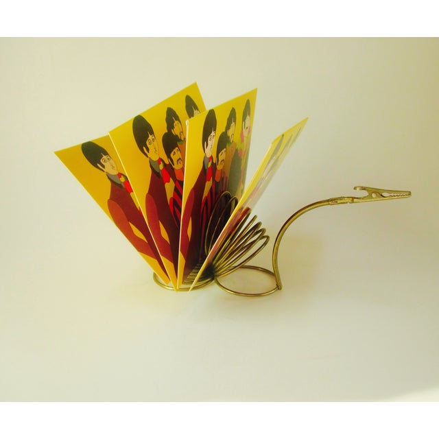 Brass Snail Slinky Memo Holder Paper Clip - Image 5 of 6