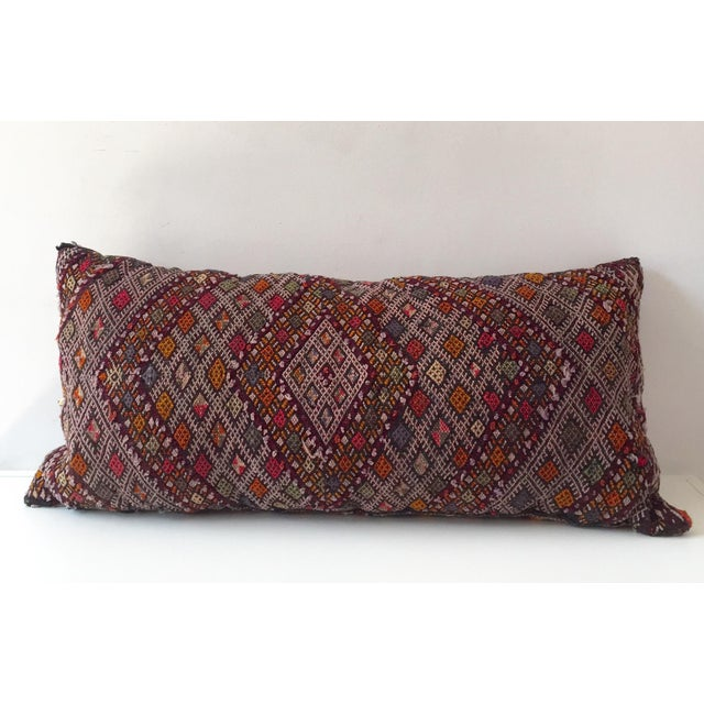 Dhurrie Lumbar Pillow - Image 3 of 8