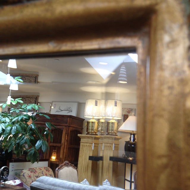 Gilded and Beveled Wall Mirror - Image 5 of 7