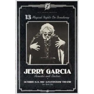 Vintage Jerry Garcia Poster