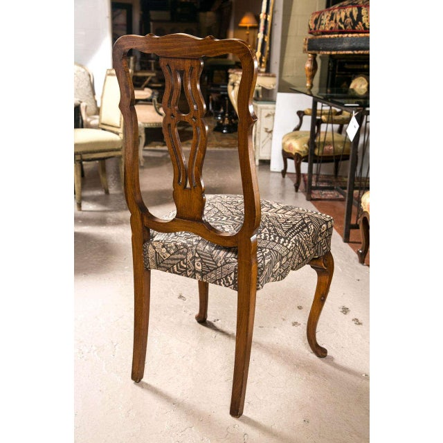 Queen Anne Style Dining Chairs Set Of 10 Chairish