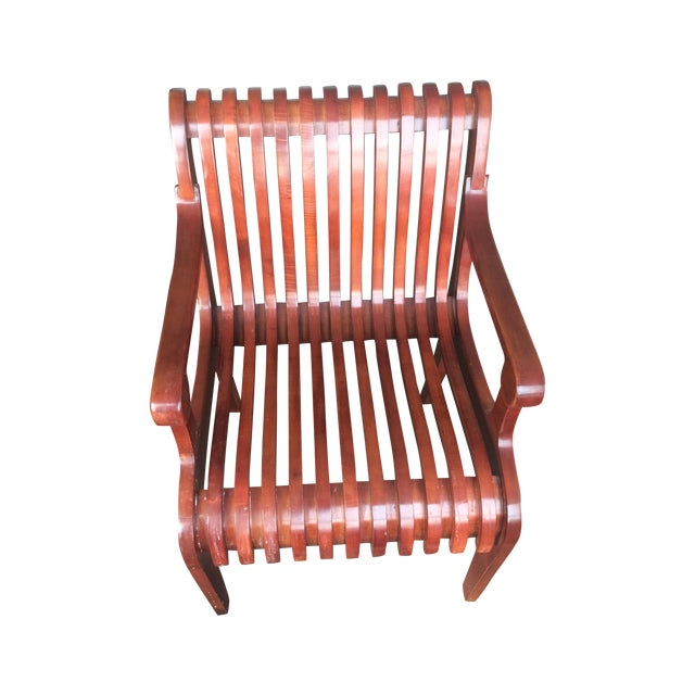 Mid-Century Molded Chairs - A Pair - Image 1 of 4