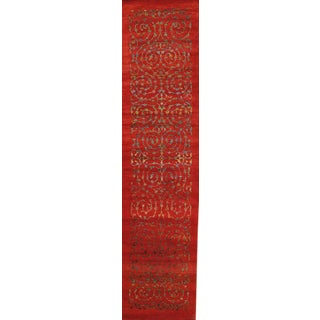 "Pasargad Gabbeh Silk & Wool Area Rug - 2'5"" X 10'3"""