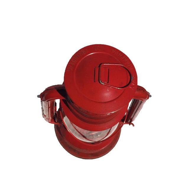 Vintage Red Camping Lantern - Image 4 of 4