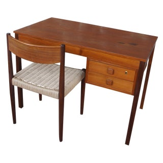 Domino Mobler Desk & Poul Volther Chair